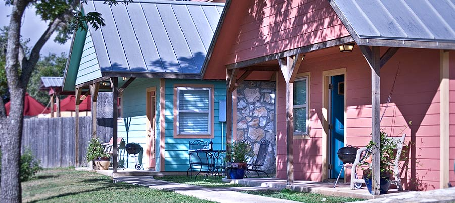 Texas Hill Country Cabins | Blanco Riverside Cottages